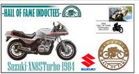 SUZUKI MOTORCYCLE HALL OF FAME COV, 1984 XN85 TURBO
