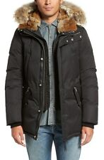 Mackage 'Edward' Down Parka Coyote and Rabbit Trim Size 42  RETAIL $1150