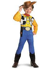 Woody Classic Sheriff Cowboy Disney Pixar Toy Story Dress Up Boys Costume S