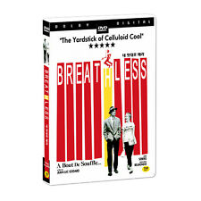 BREATHLESS / A Bout De Souffle (1960) - Jean-Luc Godard DVD *NEW