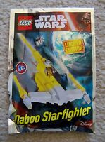 LEGO Star Wars - Super Rare 911609 Naboo Starfighter - Limited Edition Foil Pack
