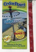 Vintage 2011 Cedar Point amusement Park Guide brochure Ohio  FREE SHIPPING