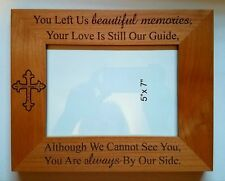 In Loving Memory beautiful memories 5x7 photo frame Keepsake Gift Family Friend