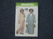 1978 RETRO VINTAGE SIMPLICITY PATTERN ~ WOMEN'S EASY TOP, PANTS, SKIRT  SIZE 16