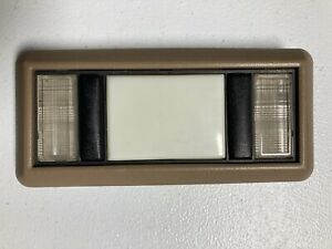 88-98 Chevy GMC C1500 Full Size Truck Suburban Tan Interior Dome Light & Bezel
