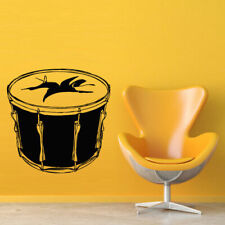 Wall Decal Sticker Vinyl Drum Music Tool Knock Sound M846