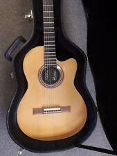 Gibson Chet Atkins CEC solid body electro nylon string guitar, 1993, used, +case