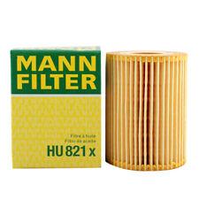 New Mann HU821X Engine Oil Filter For Mercedes-Benz W463 W221 W212 642 180 00 09