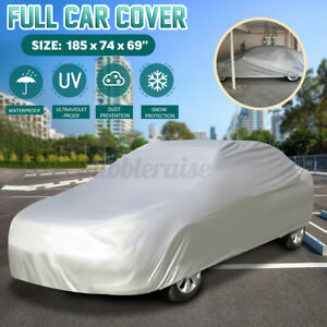 Full Car Cover Waterproof Sun UV Snow Dust Rain Resistant SUV Protection XL