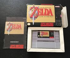 Legend of Zelda: A Link to the Past (Super Nintendo SNES) Complete In Box
