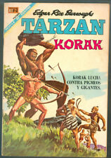 TARZAN # 196 PRESENTA KORAK ORIGINAL SPANISH MEXICAN COMIC NOVARO 1968