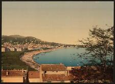 From Mont Chevalier Cannes A4 Photo Print