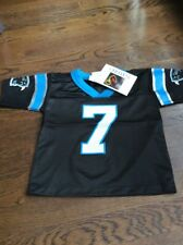 NWT NFL Carolina Panthers Beuerlein Toddler Football Jersey Size 4T
