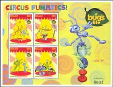 "Palau 1998 ""Bug's Life""/Disney/Films/Circus/Animation/Insects 4v sht (b437n)"