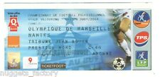 Billet / Place Olympique de Marseille - OM vs Nantes - 2004 ( 037 )