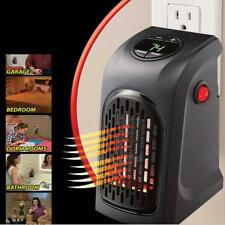 350W Electric Wall-Outlet Heater Stove Fan Handy Warm Air Warmer Blower Radiator