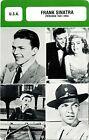 Actor Card. Fiche Cinéma Acteur. Frank Sinatra (U.S.A.) Période 1941-1954