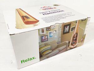 Chill Pad Hammock Indoor Outdoor Homable Beige Hanging Adjustable Tablet Holder