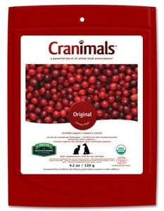 Cranimals Original for Cats & Dogs 120g Vegan Organic