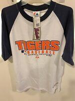Brand New Vintage 2000s Detroit Tigers Baseball Men's XL Shirt MLB Official