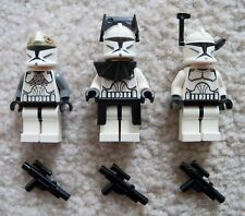 LEGO Star Wars Clone Wars - Original 8014 Minifigs - Commander, Gunner & Trooper