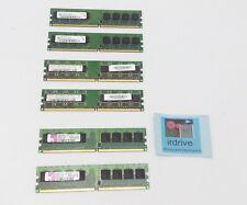Kingston Hynix 3GB (512MB x6) RAM PC2-4200U PC2-5300U DDR2 1Rx8 Desktop Memory