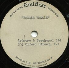 EDWICK RUMBOLD*BOGGLE WOGGLE*DIFFERENT VERSION*ACETATE*RARE PSYCH*LISTEN