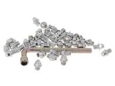 n8tive Remplazo Pin Set Acero M4x4 40 Stück Spitz para Plano Pedales Plata