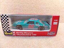 New 1993 Revell 1:24 Diecast NASCAR Bobby Hillin Helig - Meyers Thunderbird #90