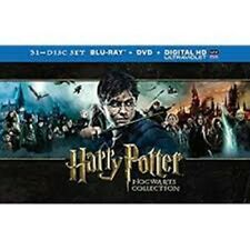 Harry Potter Hogwarts Collection 31 Disc Set Blu-Ray 3D  All Movies - New Sealed