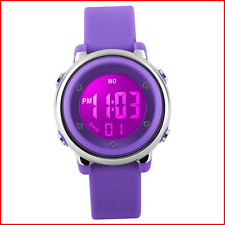 RSVOM Kids Digital Sports Watches - Girls 5 ATM Waterproof Sport Watch with Alar