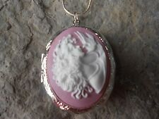 -(LOCKET)- SISTERS - MOTHER AND DAUGHTER - FRIENDS - DOVE - CAMEO LOCKET- GIFTS