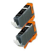 2 BLACK Ink Cartridge for Canon Printer CLI-221BK MP560 MP620 MP640 iP4700