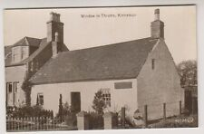 Angus postcard - Window in Thrums, Kirriemuir - RP (A46)