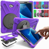 360 Rotating Shockproof Stand Tablet Case For Samsung Galaxy Tab A 10.1 SM-T580