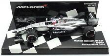 F1 1/43 MCLAREN MP4/29 MERCEDES BUTTON AUSTRALIAN GP 2014 MINICHAMPS