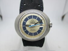 VINTAGE OMEGA DYNAMIC GENEVE CAL.684 DATE STAINLESS STEEL AUTOMATIC LADIES WATCH