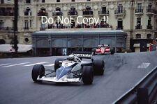 Riccardo Patrese Brabham BT52 Monaco Grand Prix 1983 Photograph 1