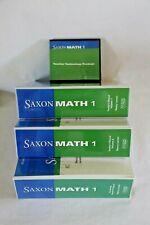 Saxon Math 1 Teacher's Manuals, Vol. 1-2, Monitoring Student Progress Manual, CD