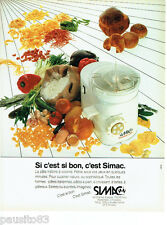 PUBLICITE ADVERTISING 056  1983    Simac   machine a pain pates