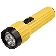 Hama 7 LED Taschenlampe FL100B, 19,6 cm, energiesparend, gelb / schwarz 92607
