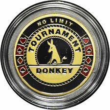 Casino Poker Card Guard Cover Protector TOURNAMENT DONKEY