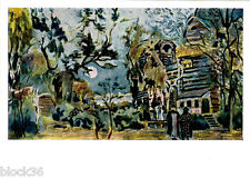 RARE 1963 Russian postcard Stage scene by A.GOLOVIN for opera THE MAID OF PSKOV