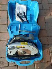 Trovex Handkreissäge mit Laser + Sägeblätter im Koffer