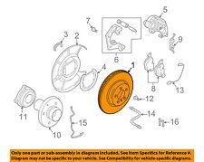 BMW OEM 06-10 650i Rear Brake-Rotor 34216763827