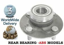 FOR SUZUKI BALENO 1.6i 1.8i GLX GSR 1995-2002 REAR WHEEL BEARING HUB WITHOUT ABS