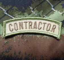 CONTRACTOR TAB TACTICAL ARMY INFIDEL MULTICAM VELCRO® BRAND FASTENER PATCH