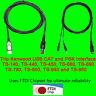 Trio Kenwood USB CAT + PSK31 Cable TS-450, TS-690, TS-790, TS850, TS-950 +more