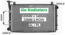 NISSAN PULSAR N13 1987-1991, HOLDEN ASTRA LD 1987-1990 1.5ltr/1.6ltr RADIATOR