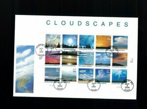 2004 Boston Massachusetts Cloudscapes Clouds Storms Fleetwood First Day Cover